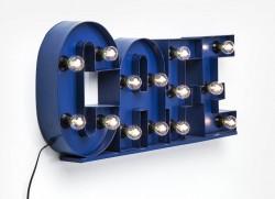 "Leuchtschrift ""Cafe"""