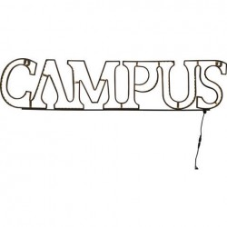 """Leuchtschrift """"Campus"""""""