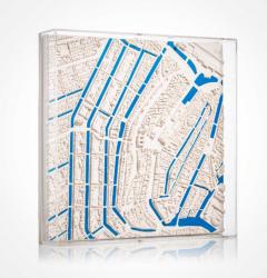 Amsterdam Blue river Modell