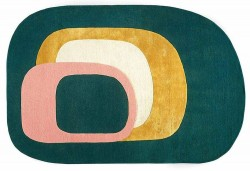 Ovaler Teppich, Nr.304