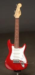 E-Gitarre, rot